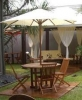 tenda payung kayu